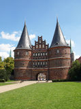 Holsten Gate, Luebeck, Germany Royalty Free Stock Photography