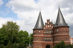 Holstentor Lizenzfreie Stockfotos