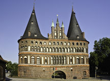 Holstentor Royalty Free Stock Photography