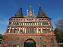 Holstentor (Holsten Gate) in Luebeck Royalty Free Stock Images