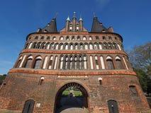 Holstentor (Holsten Gate) in Luebeck Royalty Free Stock Photos