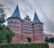 Holstentor 1, Lübeck Стоковое Фото
