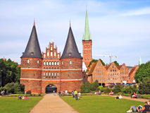 Holstentor, Lübeck Stock Images