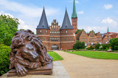 Holstentor. Lubeck, Germany Royalty Free Stock Photos