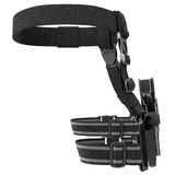 Holster belt, back view Stock Photography