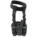 Holster protection gun. Holster black classic protection for gun. 3D graphic Royalty Free Stock Photography