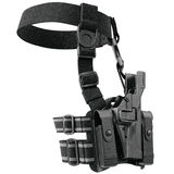 Holster uniform security. Holster on belt for gun uniform for security. 3D graphic Royalty Free Stock Photos