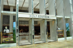 Holt Renfrew signage Royalty Free Stock Photography