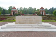 Holten canadian war cemetary Royalty Free Stock Photography