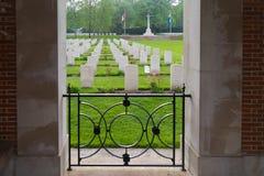 Holten kanadyjski wojenny cmentarz Zdjęcie Stock
