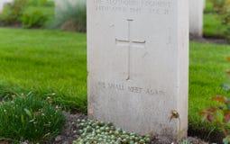 Holten kanadyjski wojenny cmentarz Fotografia Stock