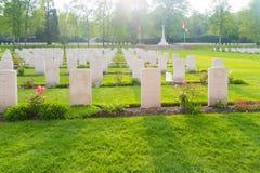 Holten kanadyjski wojenny cmentarz Obrazy Stock