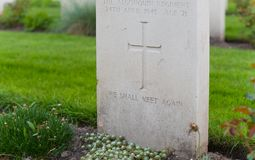 Holten canadian war cemetary Stock Photography