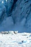 Holten vormende Gletsjer royalty-vrije stock foto