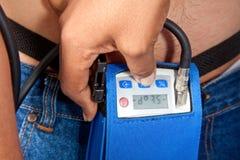 Holter Monitor Photographie stock libre de droits