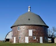 Holtkamp圆的谷仓 库存照片