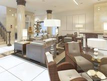 Holu teren w przesłankach zdroju hotel Zdjęcia Royalty Free