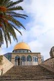 Holy Al-Aqsa Mosque. Sacred religious building in Jerusalem Al-Aqsa Royalty Free Stock Photos