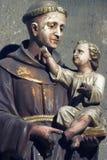 Holy Antony from vienna royalty free stock photo