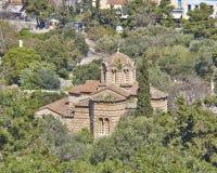 Holy Apostles byzantine church Stock Photography