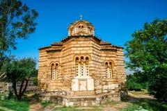 Holy Apostles church in Agora Stock Photography