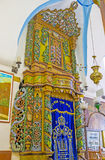 The Holy Arc in Ari Synagogue in Safed Royalty Free Stock Images