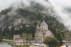 Free Holy Archangel Monastery Complex In Daryal Georgia Russia Borde Stock Image - 112725241