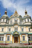 Holy Ascension Cathedral. Almaty. Kazakhstan Royalty Free Stock Image
