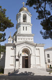 Holy Ascension Church in city of Gelendzhik Royalty Free Stock Photo