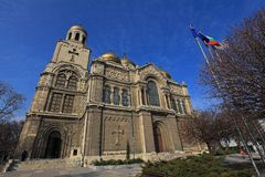 Holy Assumption Cathedral in Varna. Royalty Free Stock Photo