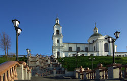 Holy Assumption Cathedral, Vitebsk, Belarus Stock Photo