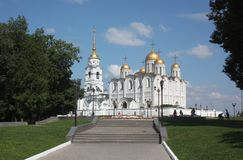 The Holy Assumption Cathedral. Vladimir, Russia Royalty Free Stock Photos