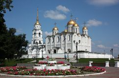 The Holy Assumption Cathedral. Vladimir, Russia. Stock Images