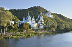 Holy Assumption Lavra monastery Royalty Free Stock Images