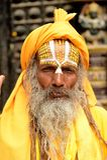 Holy Babas Stock Photo