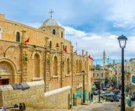 The holy Bethlehem Stock Image