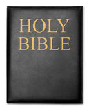 Holy Bible. Isolated on white background. With Drop Shadows Stock Photography