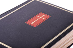 The Holy Bible. Represent the faith for Christians. It is his most important book Royalty Free Stock Images