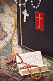 The Holy Bible. Represent the faith for Christians. It is his most important book Stock Images