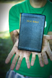 Holy Bible stock photos