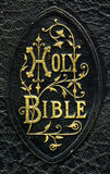 Holy bible. Close -up ofold bible Royalty Free Stock Photography