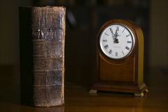 Holy Bible through the Ages. The Holy Bible through the Ages Royalty Free Stock Photo