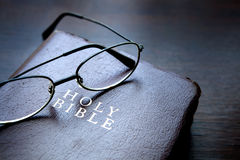 The Holy Bible. The holy book for Christian is The Bible Stock Photo