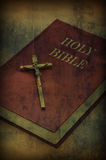 Holy bible book Stock Image