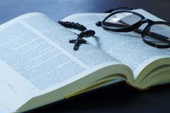Holy Bible stock images