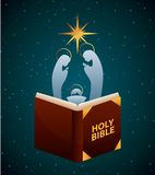 Holy bible design Stock Photography