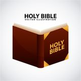 Holy bible design Stock Images