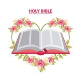 Holy bible design. Holy bible graphic design , vector illustration Royalty Free Stock Images
