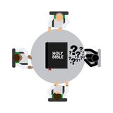 Holy bible design Stock Photo