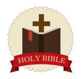 Holy bible design Stock Photos